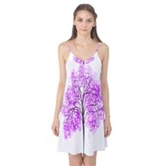 Purple Tree Camis Nightgown