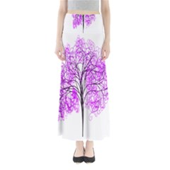 Purple Tree Maxi Skirts