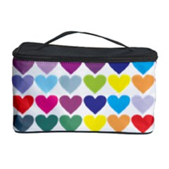 Heart Love Color Colorful Cosmetic Storage Case