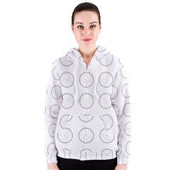 Butterfly Wallpaper Background Women s Zipper Hoodie