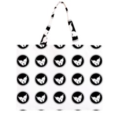 Butterfly Wallpaper Background Large Tote Bag