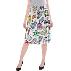 Story Of Our Life Midi Beach Skirt
