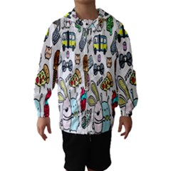 Story Of Our Life Hooded Wind Breaker (Kids)