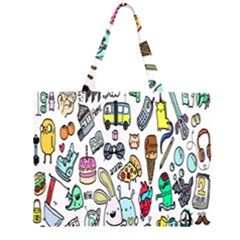 Story Of Our Life Zipper Large Tote Bag