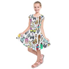 Story Of Our Life Kids  Short Sleeve Dress