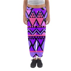 Seamless Purple Pink Pattern Women s Jogger Sweatpants