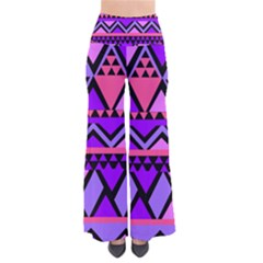 Seamless Purple Pink Pattern Pants