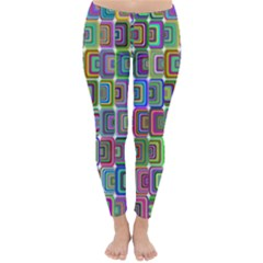 Psychedelic 70 S 1970 S Abstract Classic Winter Leggings