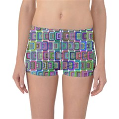 Psychedelic 70 S 1970 S Abstract Reversible Bikini Bottoms