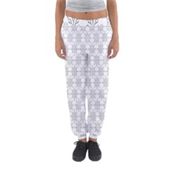 Ornamental Decorative Floral Women s Jogger Sweatpants