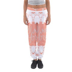 Mandala I Love You Women s Jogger Sweatpants