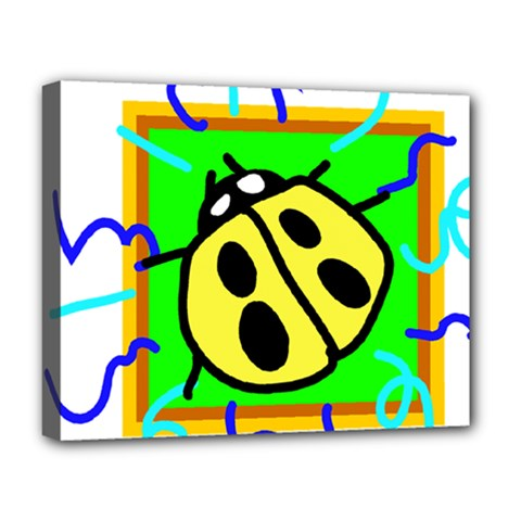 Insect Ladybug Deluxe Canvas 20  x 16