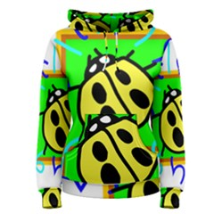Insect Ladybug Women s Pullover Hoodie