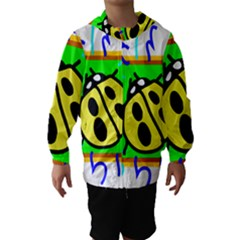 Insect Ladybug Hooded Wind Breaker (Kids)