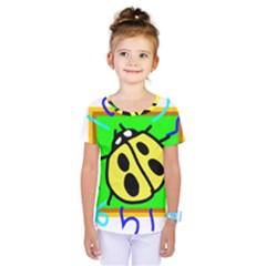 Insect Ladybug Kids  One Piece Tee