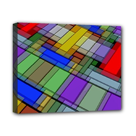 Abstract Background Pattern Canvas 10  x 8
