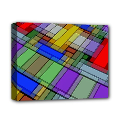 Abstract Background Pattern Deluxe Canvas 14  x 11