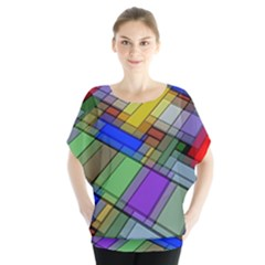 Abstract Background Pattern Blouse