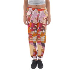 Abstract Abstraction Pattern Modern Women s Jogger Sweatpants