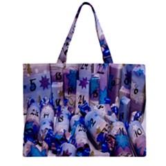 Advent Calendar Gifts Zipper Mini Tote Bag