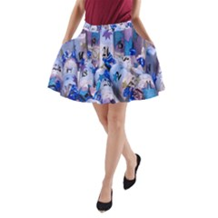 Advent Calendar Gifts A-Line Pocket Skirt