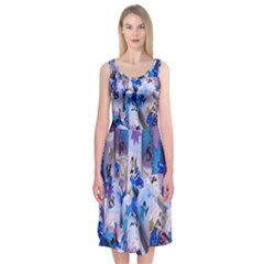 Advent Calendar Gifts Midi Sleeveless Dress