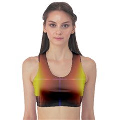 Abstract Painting Sports Bra