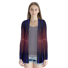 Abstract Painting Cardigans