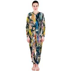 Art Graffiti Abstract Lines OnePiece Jumpsuit (Ladies)