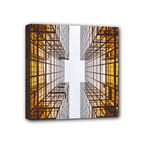Architecture Facade Buildings Windows Mini Canvas 4  x 4