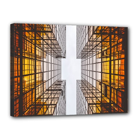 Architecture Facade Buildings Windows Canvas 16  x 12