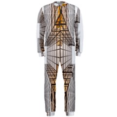 Architecture Facade Buildings Windows OnePiece Jumpsuit (Men)