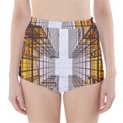 Architecture Facade Buildings Windows High-Waisted Bikini Bottoms