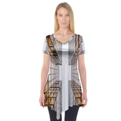 Architecture Facade Buildings Windows Short Sleeve Tunic