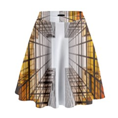 Architecture Facade Buildings Windows High Waist Skirt