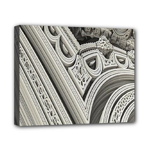 Arches Fractal Chaos Church Arch Canvas 10  x 8