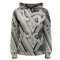Arches Fractal Chaos Church Arch Women s Pullover Hoodie