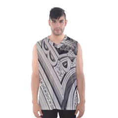 Arches Fractal Chaos Church Arch Men s Basketball Tank Top