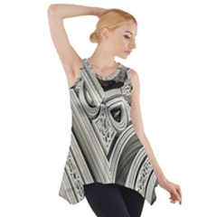 Arches Fractal Chaos Church Arch Side Drop Tank Tunic