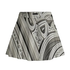 Arches Fractal Chaos Church Arch Mini Flare Skirt