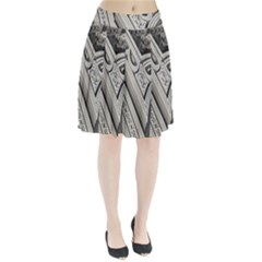 Arches Fractal Chaos Church Arch Pleated Skirt