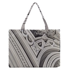 Arches Fractal Chaos Church Arch Medium Zipper Tote Bag