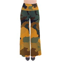 Background For Scrapbooking Or Other Camouflage Patterns Orange And Green Pants