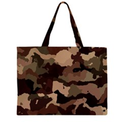 Background For Scrapbooking Or Other Camouflage Patterns Beige And Brown Large Tote Bag