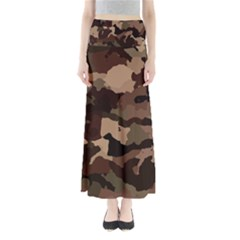 Background For Scrapbooking Or Other Camouflage Patterns Beige And Brown Maxi Skirts