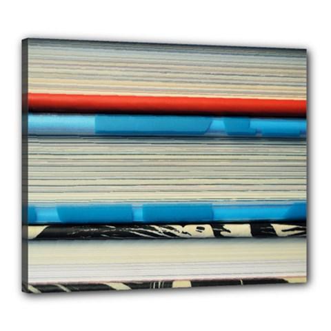 Background Book Books Children Canvas 24  x 20