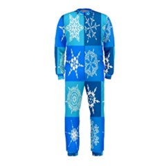 Background Blue Decoration OnePiece Jumpsuit (Kids)