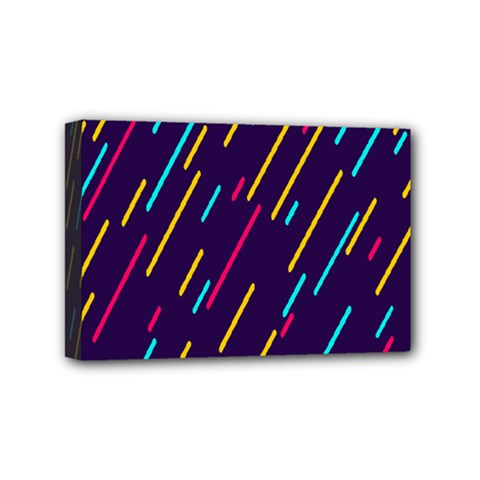Background Lines Forms Mini Canvas 6  x 4