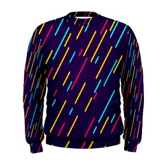 Background Lines Forms Men s Sweatshirt