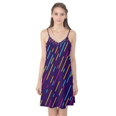 Background Lines Forms Camis Nightgown
